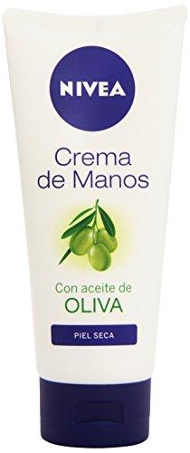 Nivea Crema Mani, Aceite de Oliva Crema de Manos, 100 ml