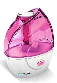 Cheap 10-Hour Ultrasonic Humidifier Color: Pink (H900P)