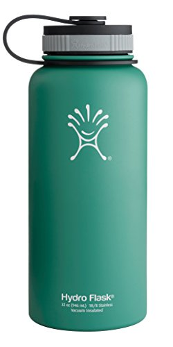 Hydro Flask Insulated Water Bottle (32 Oz. Green Zen) front-966094