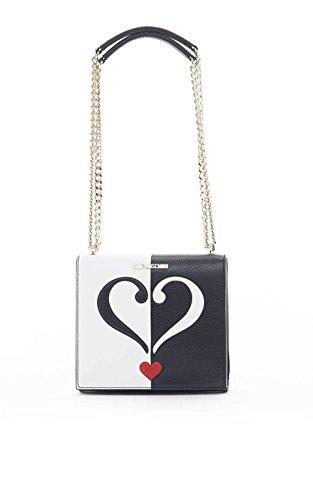 Love Moschino JC4241PP01KD 100A tasche weiß/schwarz thumbnail