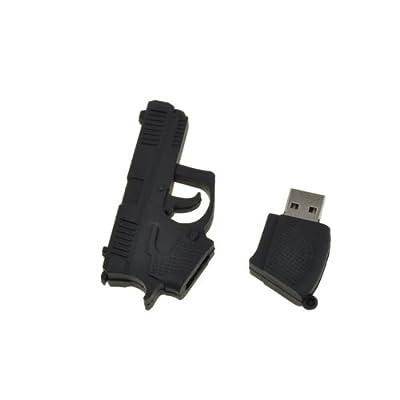BestDealUK Cool Novel Gun Shape 4GB USB 2.0 Flash Memory Drive U Disk by BestDealUK