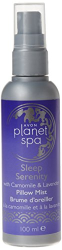 Avon - Planet Spa Sleep Serenity, Spray per cuscino alla camomilla e lavanda, azione rilassante, 100 ml