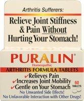 Отзывы Puralin Homeopathic Arthritis Formula -- 60 Tablets