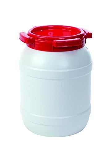 Wasserfass ohne Etikett, weiß, 6,4 L