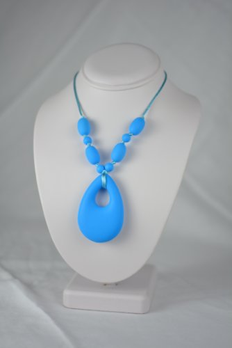 adelily-Nontoxic-Nursing-Teething-Necklace-Silicone-Teardrop-Pendant-in-Sky-Blue