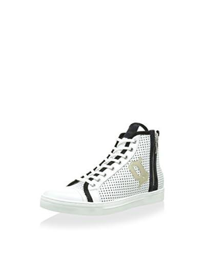 GALLIANO Sneaker Alta [Bianco/Nero]
