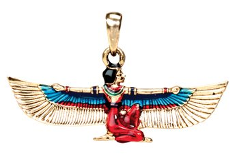 Maat Pendant - Collectible Medallion Necklace