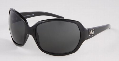 Dolce & Gabbana Sunglasses Designer Fashion AUTHENTIC Unisex Black Gray Eyewear D&G 8018 501/87