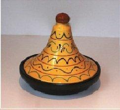 Yellow Terracotta Tagine by Spanish Terracotta