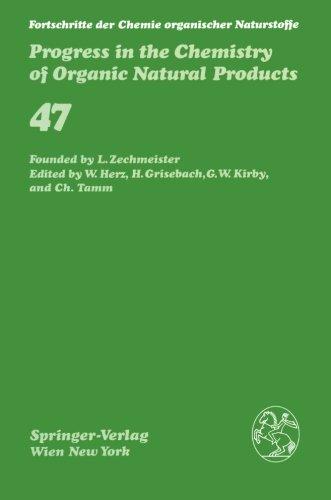 Fortschritte der Chemie organischer Naturstoffe / Progress in the Chemistry of Organic Natural Products (Fortschritte de