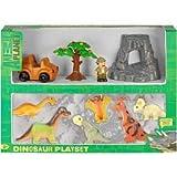 Animal Planet Soft Dinosaur Playset - 10 Piece Set