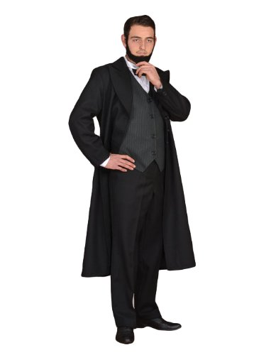 Tabi's Characters Men's President Abraham Lincoln Civil War Era Costume