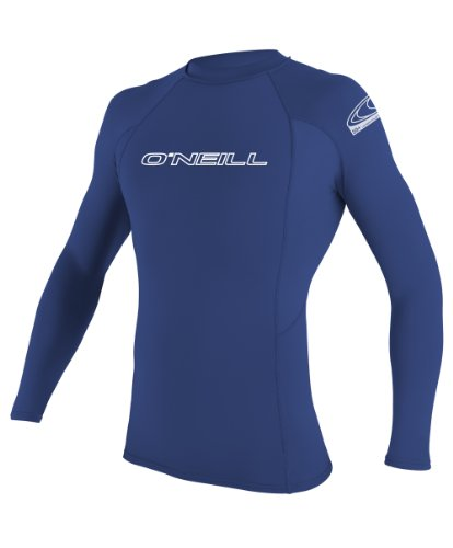 oneill-wetsuits-uv-sun-protection-mens-basic-skins-long-sleeve-crew-sun-shirt-rash-guard-pacific-x-l