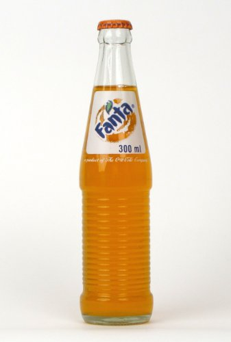 Mexican Fanta Orange 6-12oz (355ml) Glass Bottles Mexico (Mexico Soda compare prices)