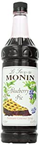 MONIN Flavored Syrup, Blueberry Pie, 33.8-Ounce (Pack of 2)