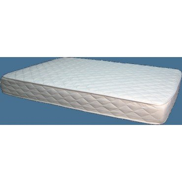 """7"""" All Natural Latex Cal King Size Mattress With Organic Cotton And Wool Quilted Cover front-34474"""