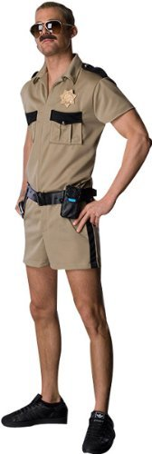 Reno 911 Lt. Dangle Adult Costume, Tan, Standard (One-Size) [Office Product]