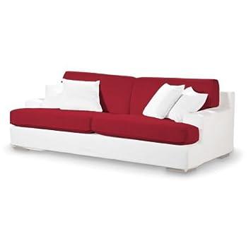 4-tlg. Sofa-Bezug-Set Farbe: Rot