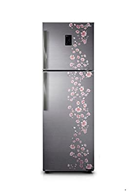 Samsung RT33HDJFELX Frost-free Double-door Refrigerator (321 Ltrs, 4 Star Rating, Orcherry Peach Silver)