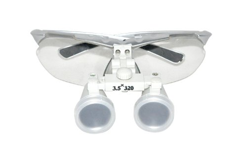 Generic Brand New Silver Dental Surgical Binocular Loupes 3.5X320Mm Optical Glass Loupe