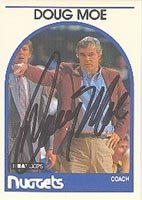 Doug Moe Denver Nuggets 1989 Hoops Autographed Hand Signed Trading Card - Nice... by Hall+of+Fame+Memorabilia
