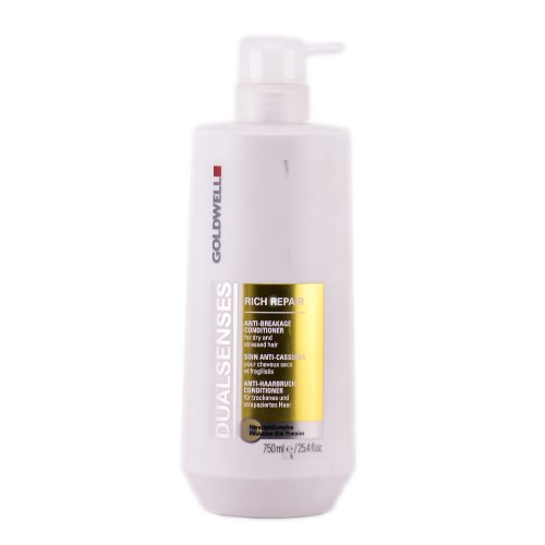Goldwell Dualsenses Rich Repair Anti-Breakage Conditioner for Unisex, 25.4 Ounce (Goldwell Repair Conditioner compare prices)