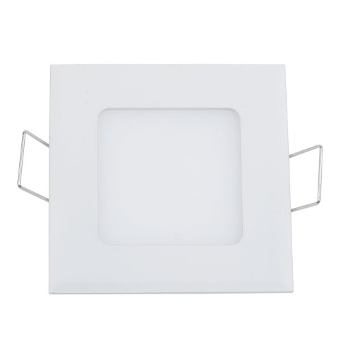 Bloomwin-15W Dimmable Led Recessed Ceiling Panel Light Downlight Square Ac 110V Warm White