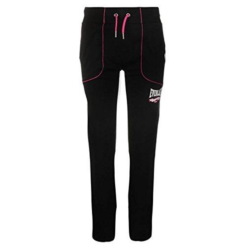 everlast-womens-interlock-pants-ladies-elasticated-waist-training-sports-bottoms-black-m-12