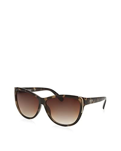 Kenneth Cole Reaction KCR1253 Women's Cat Eye Sunglasses, Havana/Brown Gradient As You See