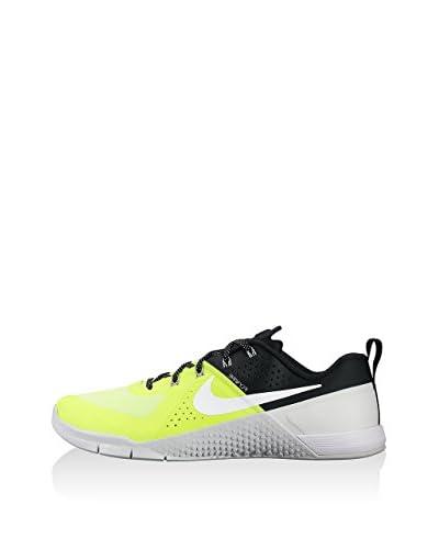 Nike Zapatillas Metcon 1 Negro / Amarillo / Blanco
