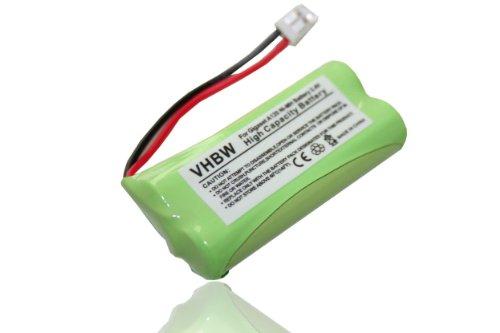vhbw Ni-MH Akku 600mAh (2.4V) passend für SIEMENS Gigaset A12, A14, A16, A24, A26, A345, AL14, AL14H, AS15