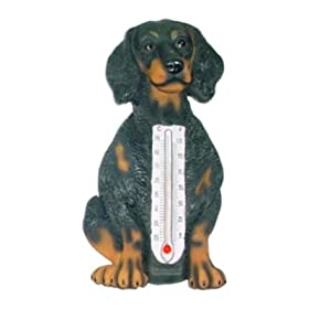 Dachshund Dog Indoor Outdoor Thermometer