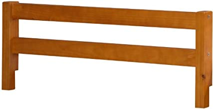 100 Solid Wood Safety Rail Guard by Palace Imports Honey Pine Color 145quotH x 425quotW 2quotx 2quot