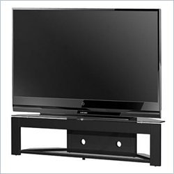 Cheap Tech-Craft MD73 LCD,Plasma Glass TV Stand in Black Finish (MD73)