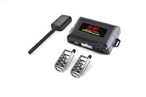 Crimestopper SP-402 Car Alarm with Remote Start, Keyless Entry and Engine Disable from Crimestopper