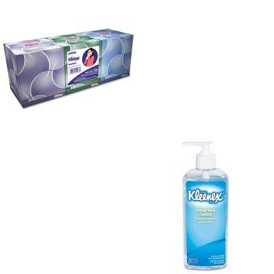 Kitkim21286Kim93060Ea - Value Kit - Kimberly Clark Kleenex Boutique Anti-Viral Tissue (Kim21286) And Kimberly Clark Kleenex Instant Hand Sanitizer (Kim93060Ea) front-976112