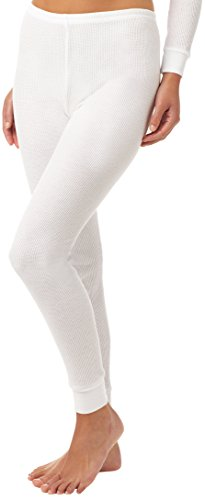 Fruit of the Loom Women's Thermal Underwear Bottom, Arctic White, X-Small (Insulation Underwear compare prices)