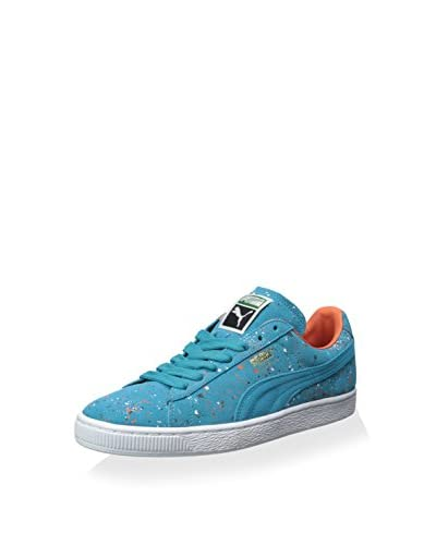 PUMA Men's Suede Classic Splatter Sneaker