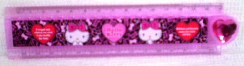 Kitty / stretched 30 cm ruler 2. folding ruler 8464