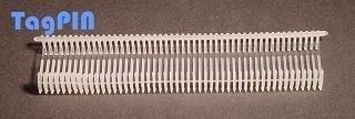 Kunststofffäden tagPin 10000 fils de reliure standard) transparent 15 mm
