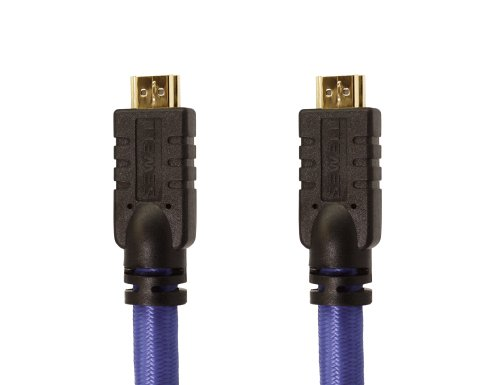 Sewell Direct SW-32000-22-35 Premium 22 AWG HDMI Cable, High Speed with Ethernet, Triple Shielded, Gold Plated, 35-Feet