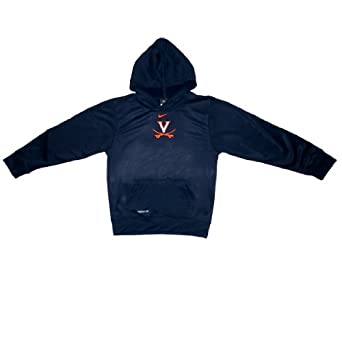 NCAA Virginia Cavaliers Boys Therma-Fit Pullover Hoodie with Embroidered Logo by NCAA