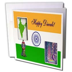 Beverly Turner Design - Diwali - Greeting Cards-12