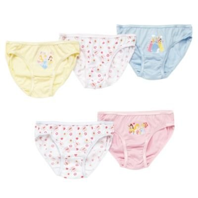 Character-Girl's pack of five 'Disney Princess' briefs-