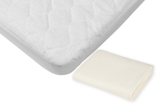 American Baby Company Bedding Gift Set, Ecru