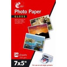 60-blatt-glanz-foto-papier-178-x-127-cm-235-gsm-2-packungen-von-30