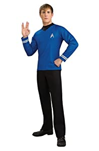 Rubie's Costume Star Trek Into Darkness Deluxe Spock Shirt With Emblem Costume