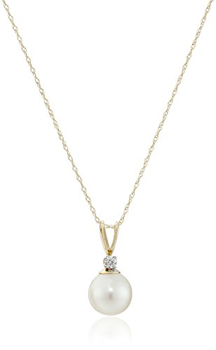 10k-yellow-gold-freshwater-cultured-pearl-with-diamond-accent-pendant-necklace