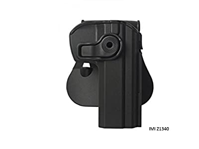 Combined of 2 Items Imi-z1340 Polymer Roto Retention Holster and Double Mag Pouch for Cz 75 Sp-01 Shadow, Cz75 Sp-01 Tactical, Cz75 Compact, Cz75 D Compact +Free Shipping to Your Address + Free Bonus Cleanning Rod