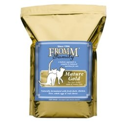 Image of Fromm Gold Holistic Mature Dry Cat Food, 5-lb